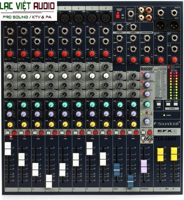 Mixer Soundcraft EFX8 cao cấp