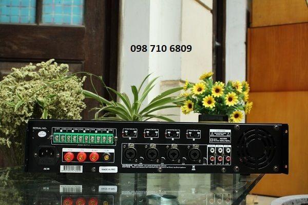 Mặt sau Amply DB LP100T