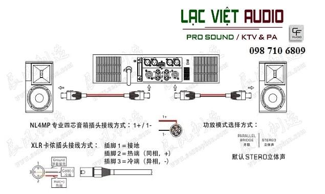 Thiết kế Loa CF TC 10