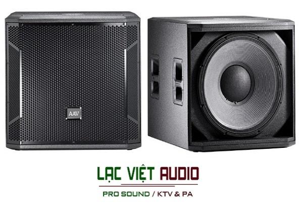 Loa AAV SW118 - loa sub bass đơn 5 tấc