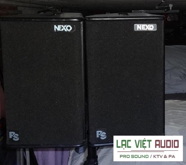 Loa Nexo PS10 thiết kế sang trọng