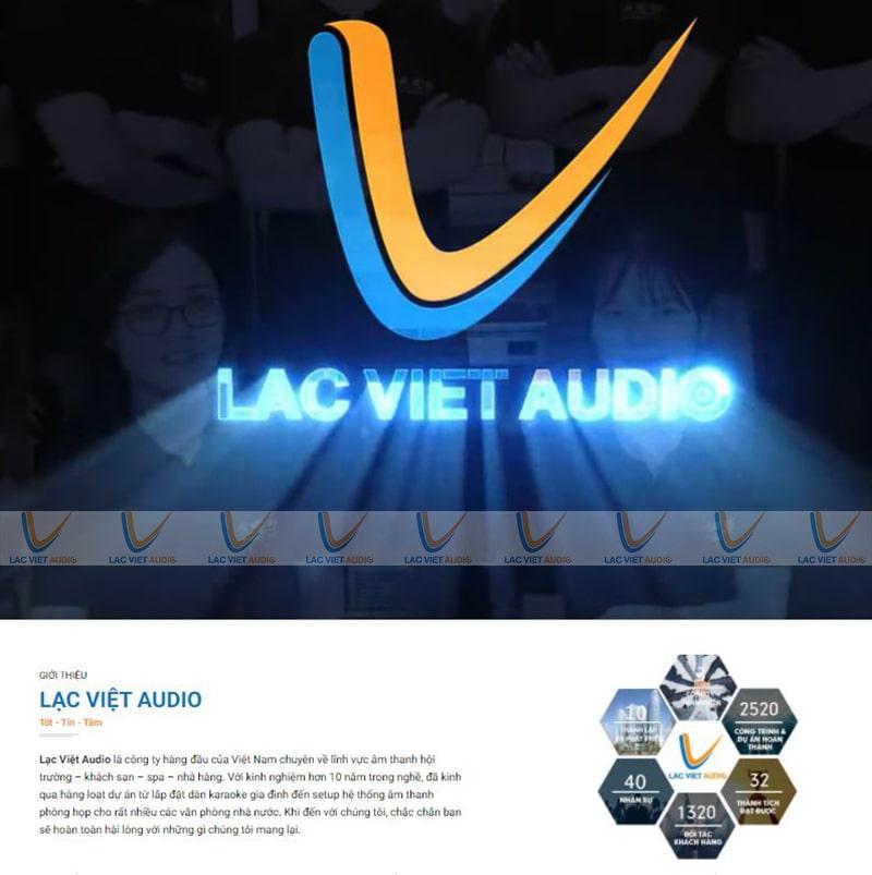 Lạc Việt Audio- Đơn vị âm thanh số 1 tại thị trường Việt Nam