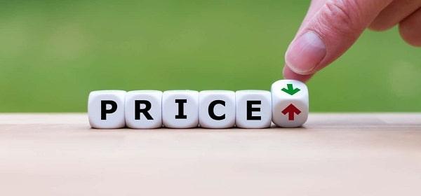 Bạn có thể dựa vào mức giá của sản phẩm để chọn mua
