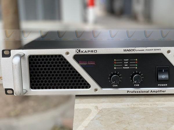 Cục đẩy bãi xkapro MA-600 có núm điều chỉnh dễ sử dụng