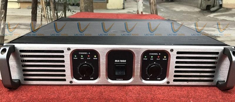 Cục đẩy bãi crown audio MA 1800 có thiết kế sang trọng, mẫu mã đẹp