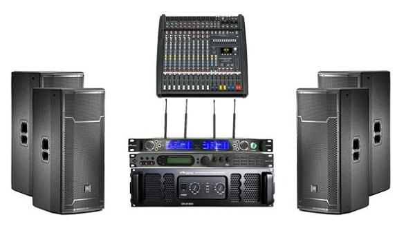 Dàn âm thanh hội trường giá rẻ cần có những thiết bị gì?