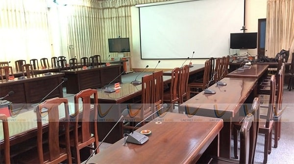 Lắp đặt hệ thống âm thanh hội nghị cho Bộ Tư lệnh Vùng 1 Hải Quân