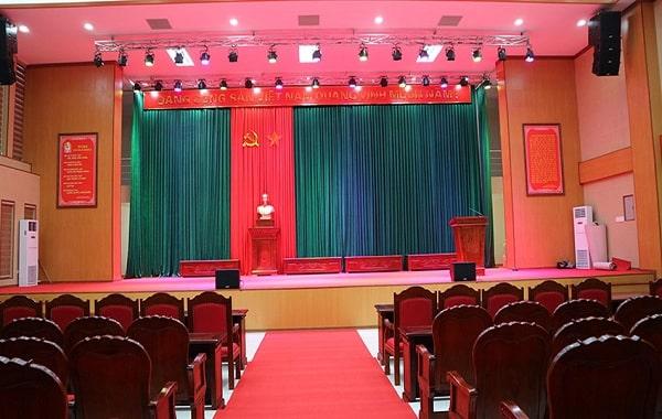 Tưvấn thiết kế lắp đặt dàn âm thanh hội trường TP HCM, Hà Nội, Đà Nẵng